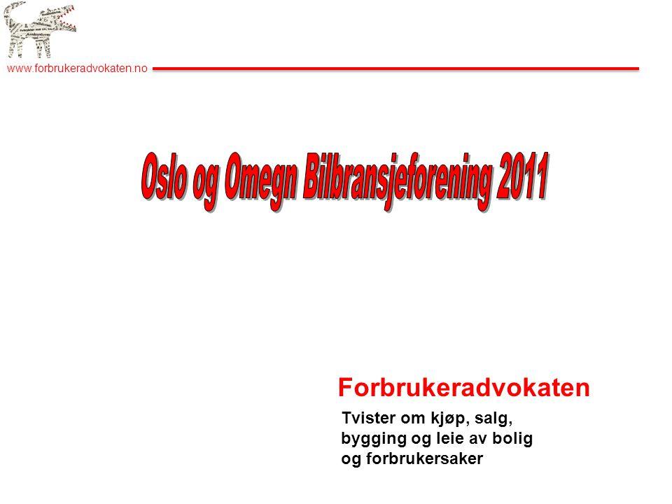 Oslo og Omegn Bilbransjeforening 2011