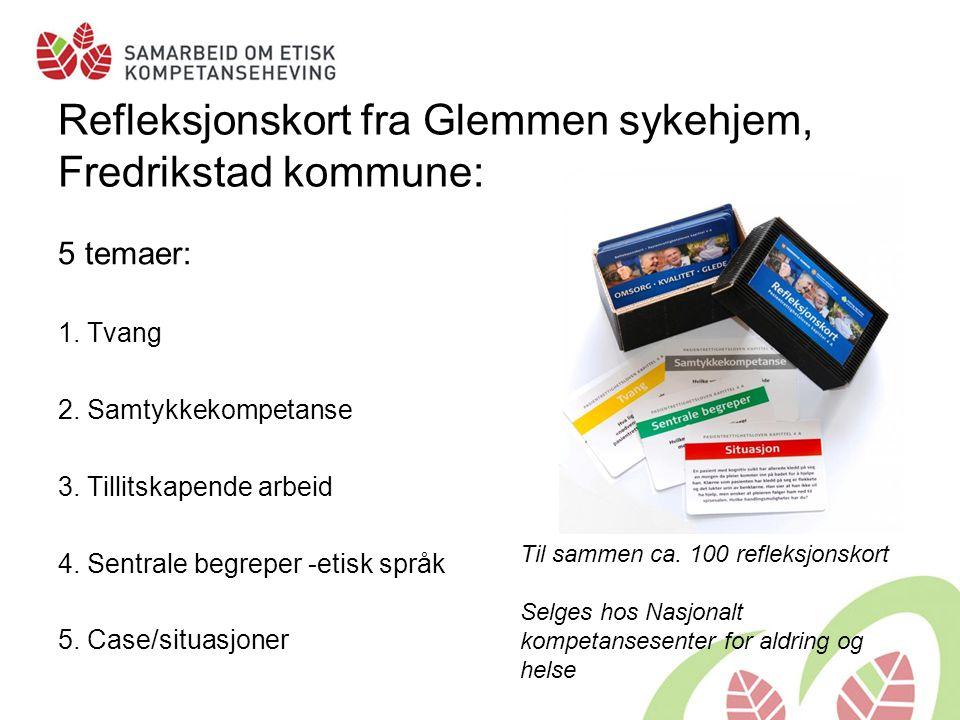 Refleksjonskort fra Glemmen sykehjem, Fredrikstad kommune: