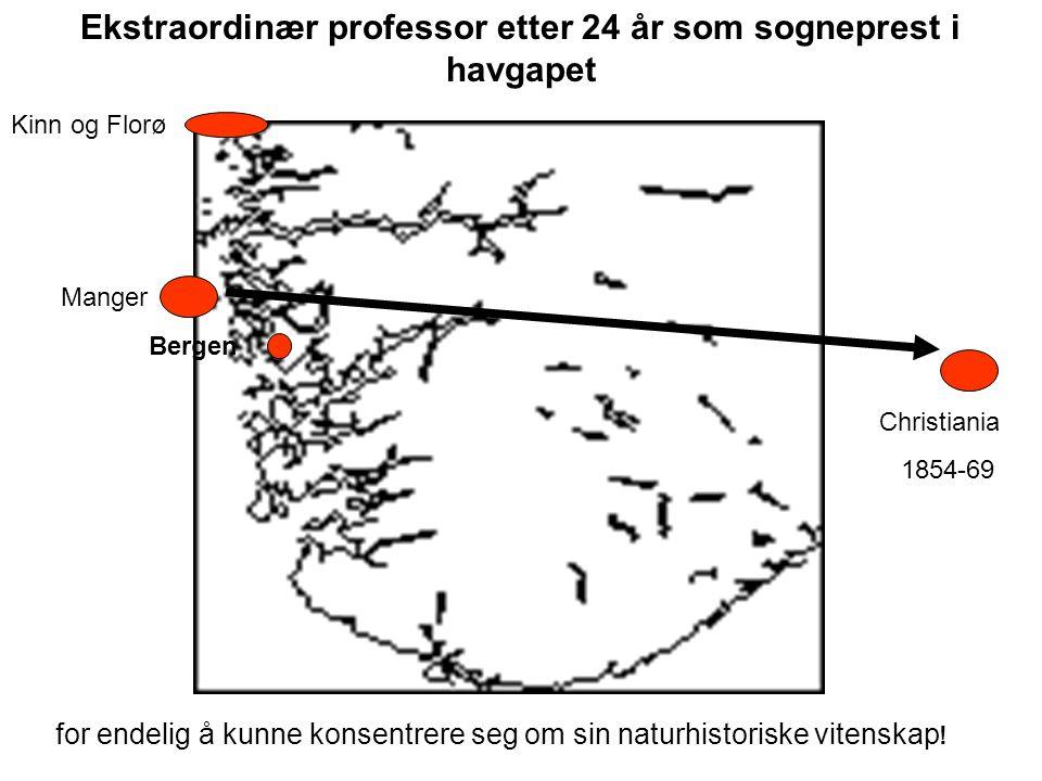 Ekstraordinær professor etter 24 år som sogneprest i havgapet