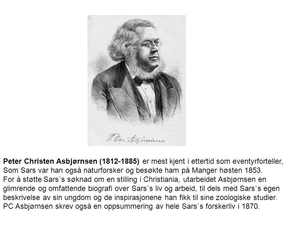 Peter Christen Asbjørnsen (1812-1885) er mest kjent i ettertid som eventyrforteller,