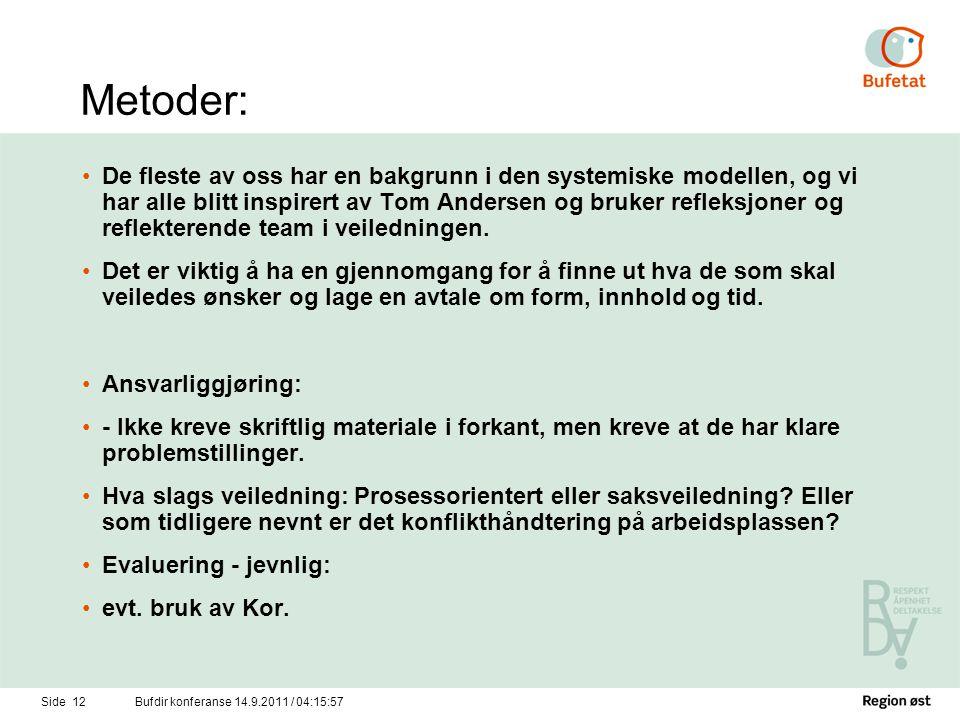 Metoder: