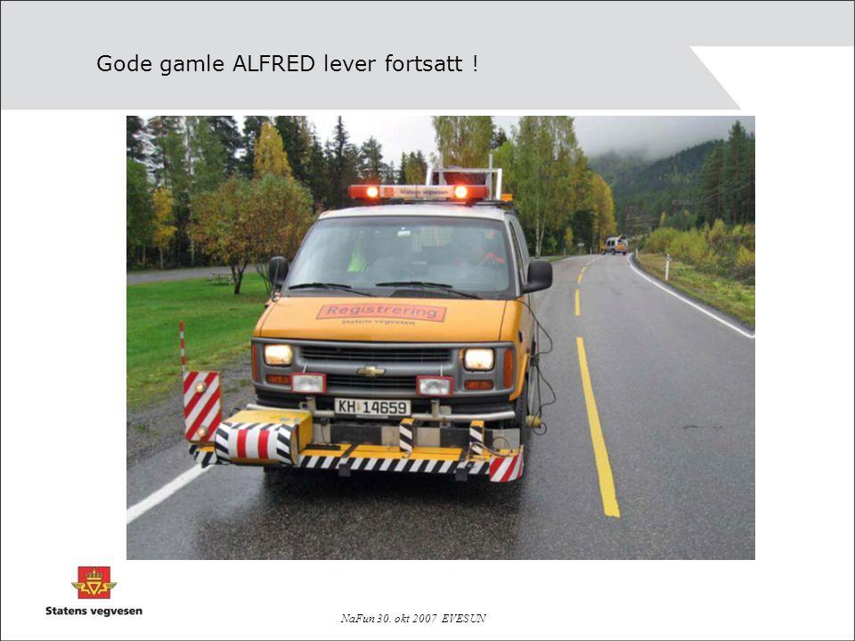 Gode gamle ALFRED lever fortsatt !