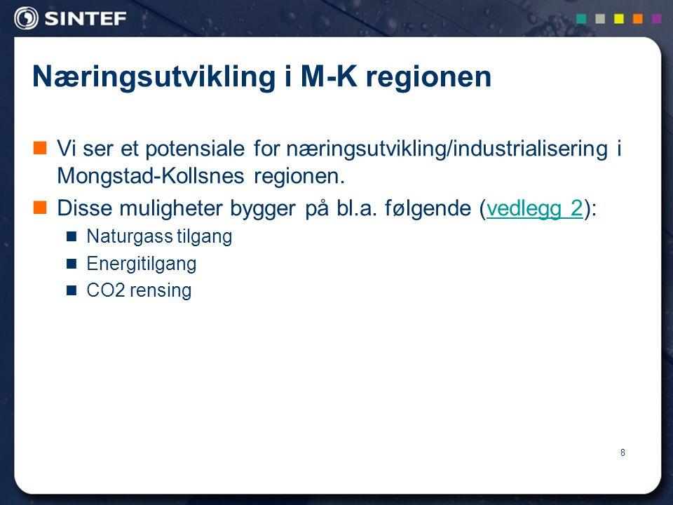 Næringsutvikling i M-K regionen