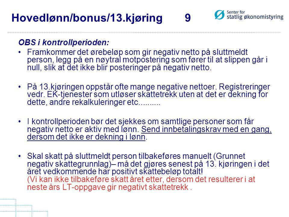 Hovedlønn/bonus/13.kjøring 9