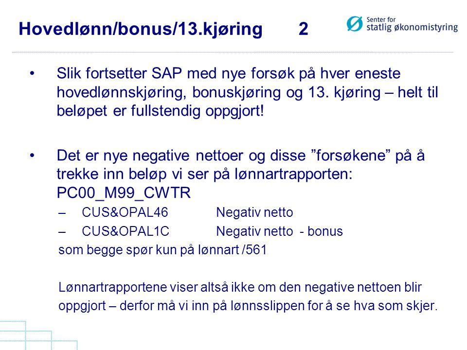 Hovedlønn/bonus/13.kjøring 2