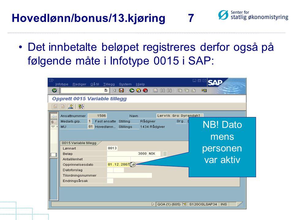 Hovedlønn/bonus/13.kjøring 7
