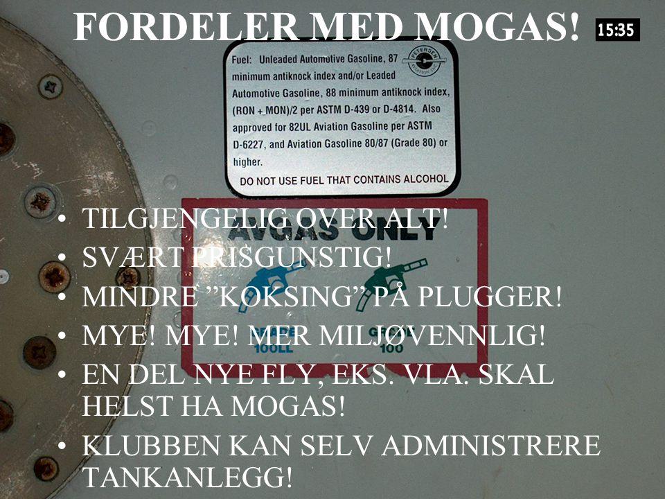 FORDELER MED MOGAS! TILGJENGELIG OVER ALT! SVÆRT PRISGUNSTIG!
