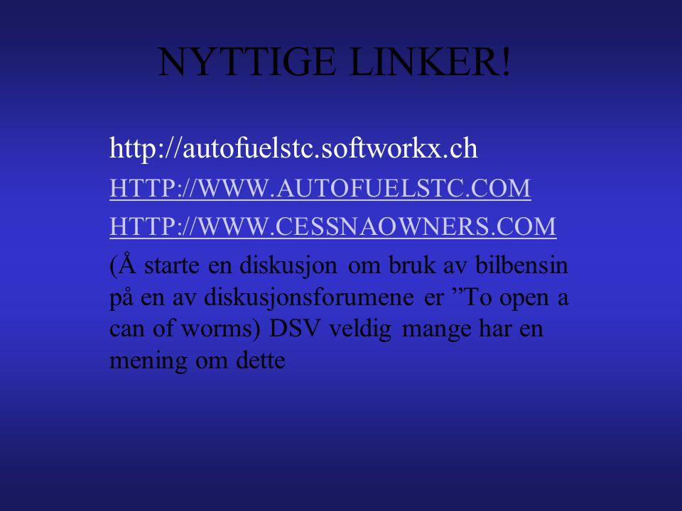 NYTTIGE LINKER! http://autofuelstc.softworkx.ch