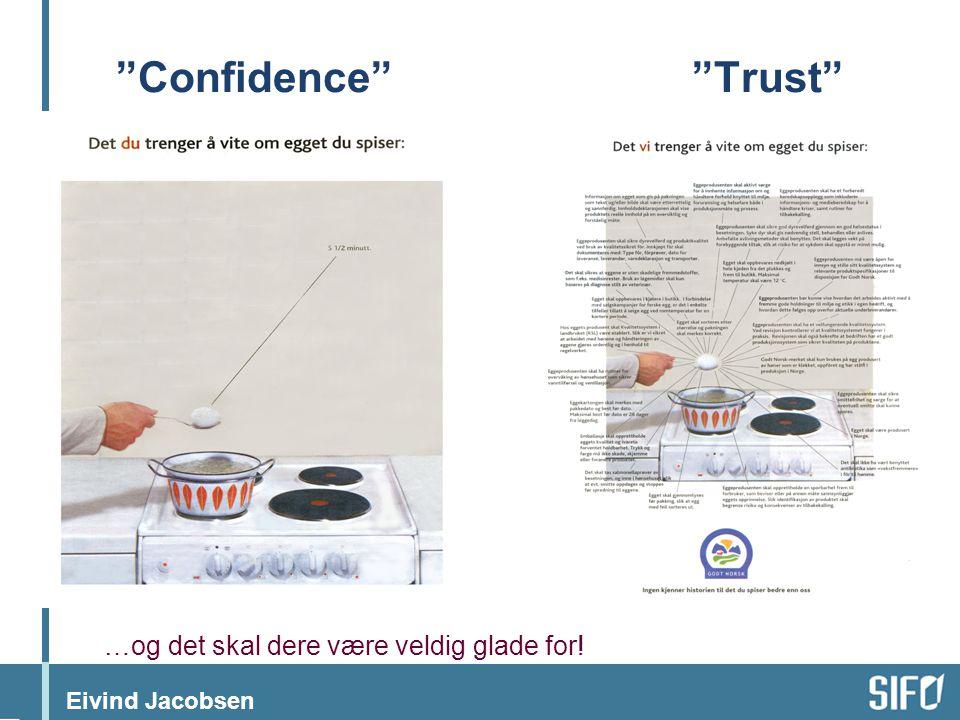 Confidence Trust …og det skal dere være veldig glade for!