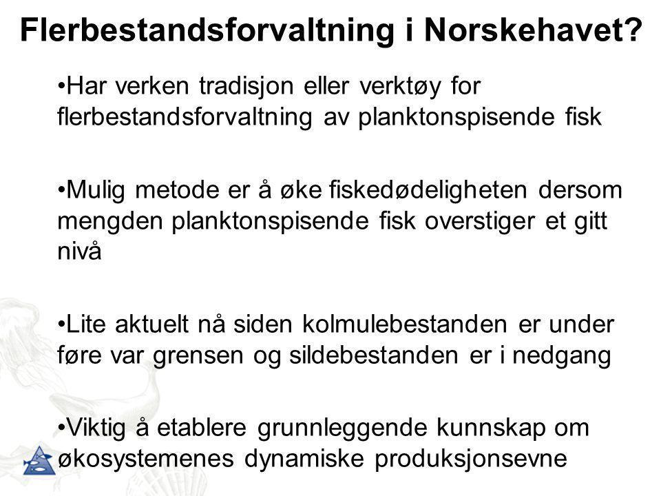 Flerbestandsforvaltning i Norskehavet
