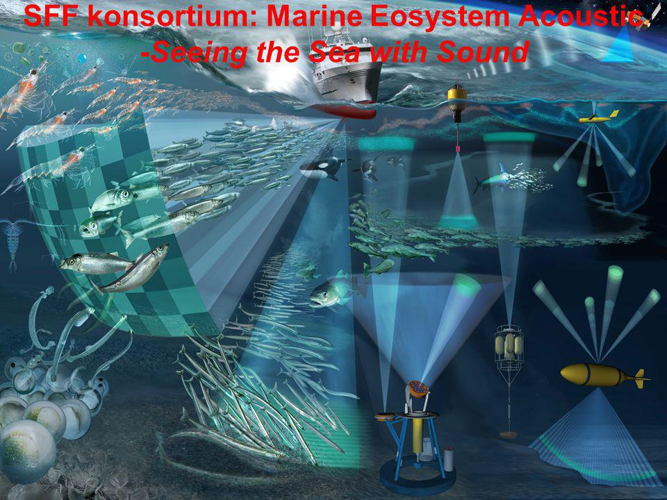 SFF konsortium: Marine Eosystem Acoustic -Seeing the Sea with Sound