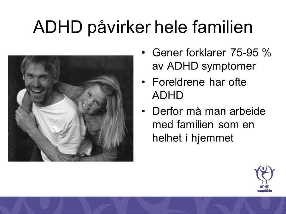 ADHD påvirker hele familien