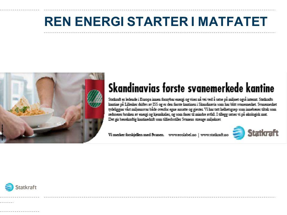 REN ENERGI STARTER I MATFATET