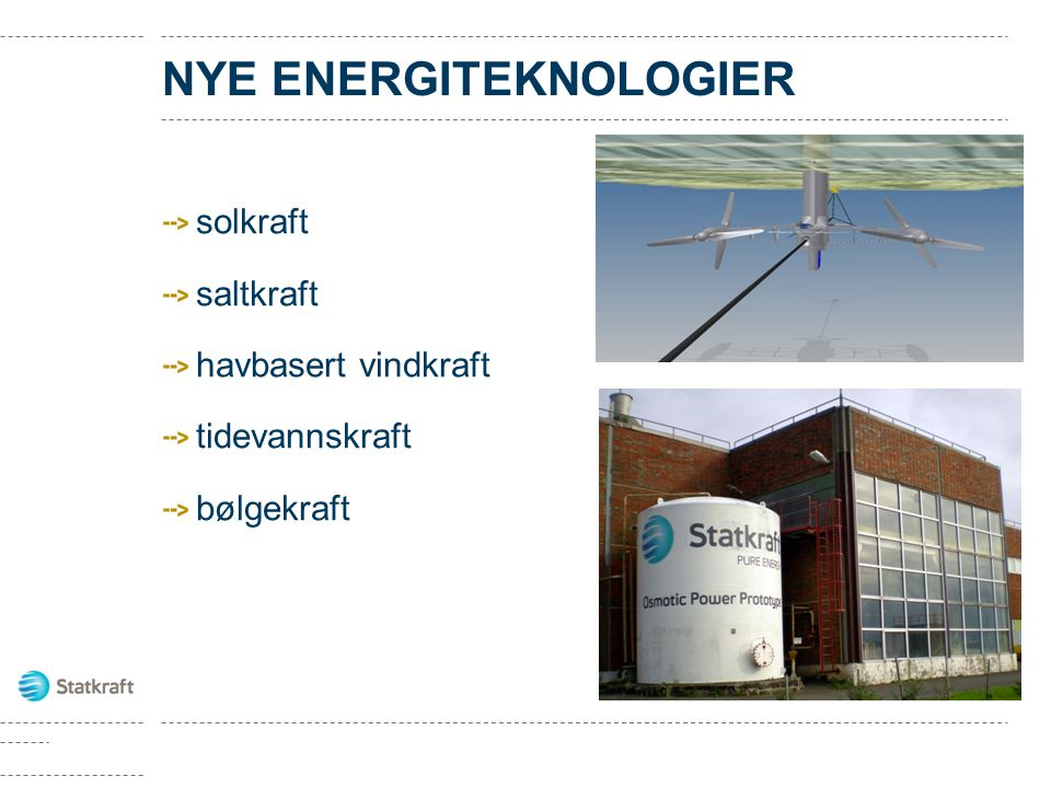 NYE ENERGITEKNOLOGIER
