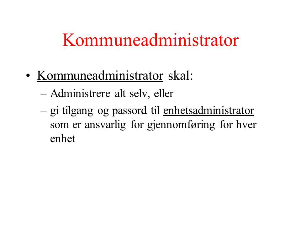 Kommuneadministrator