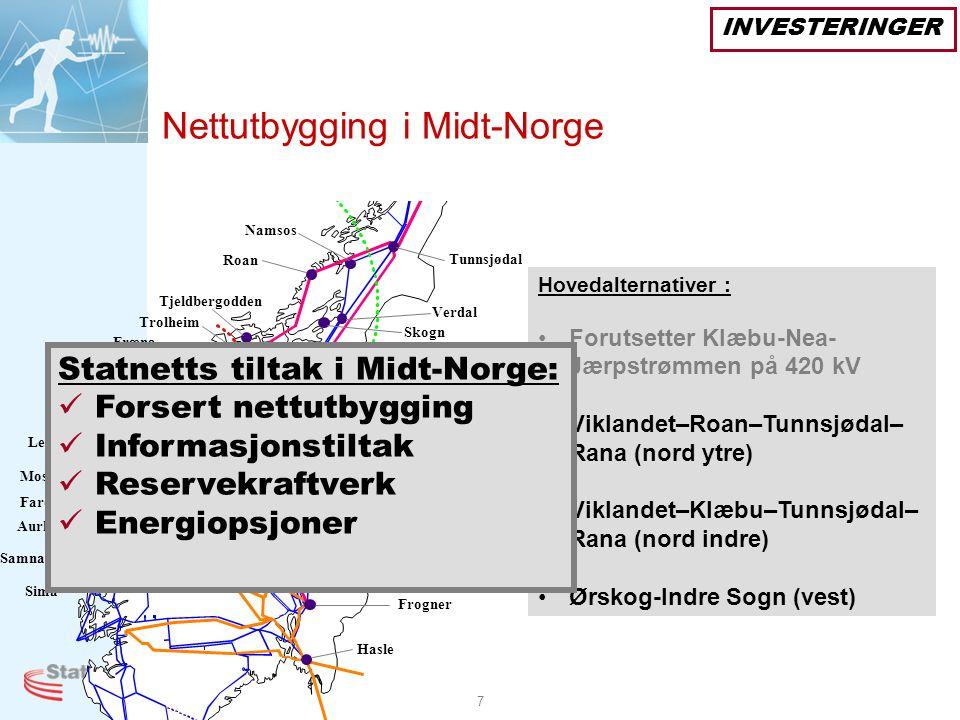 Nettutbygging i Midt-Norge