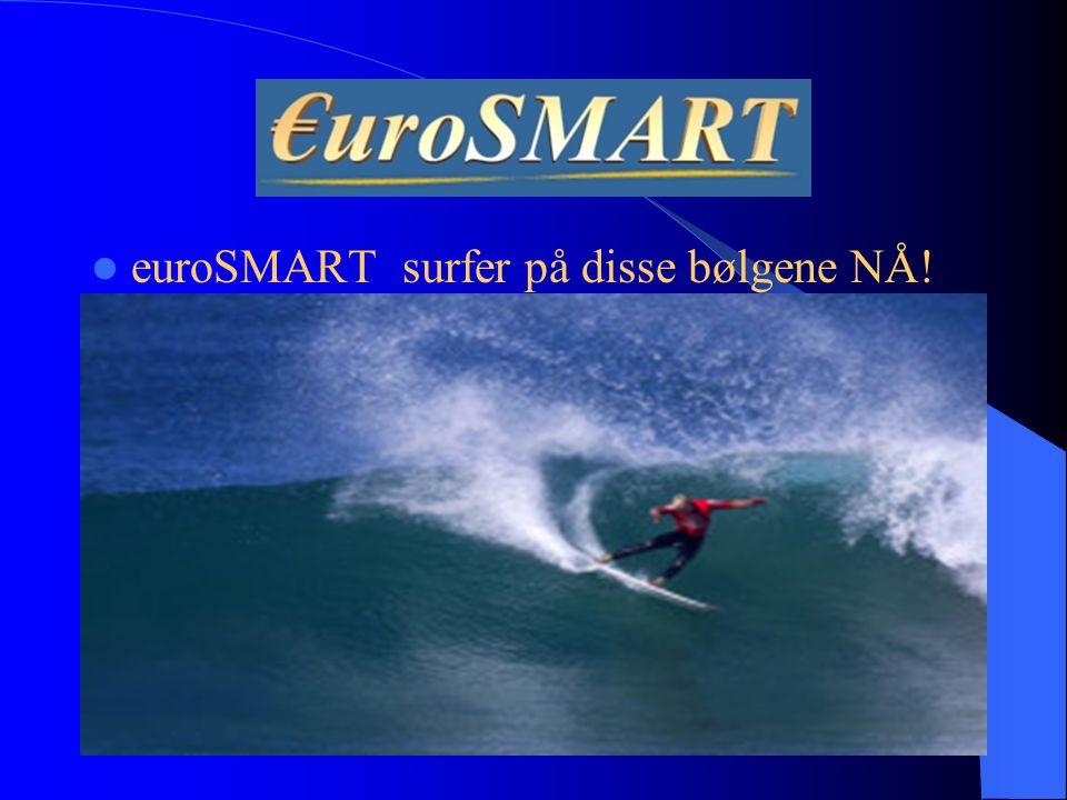 euroSMART surfer på disse bølgene NÅ!