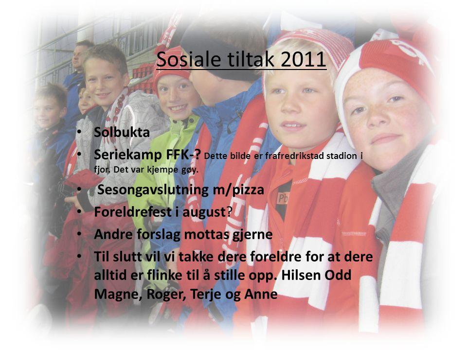 Sosiale tiltak 2011 Solbukta