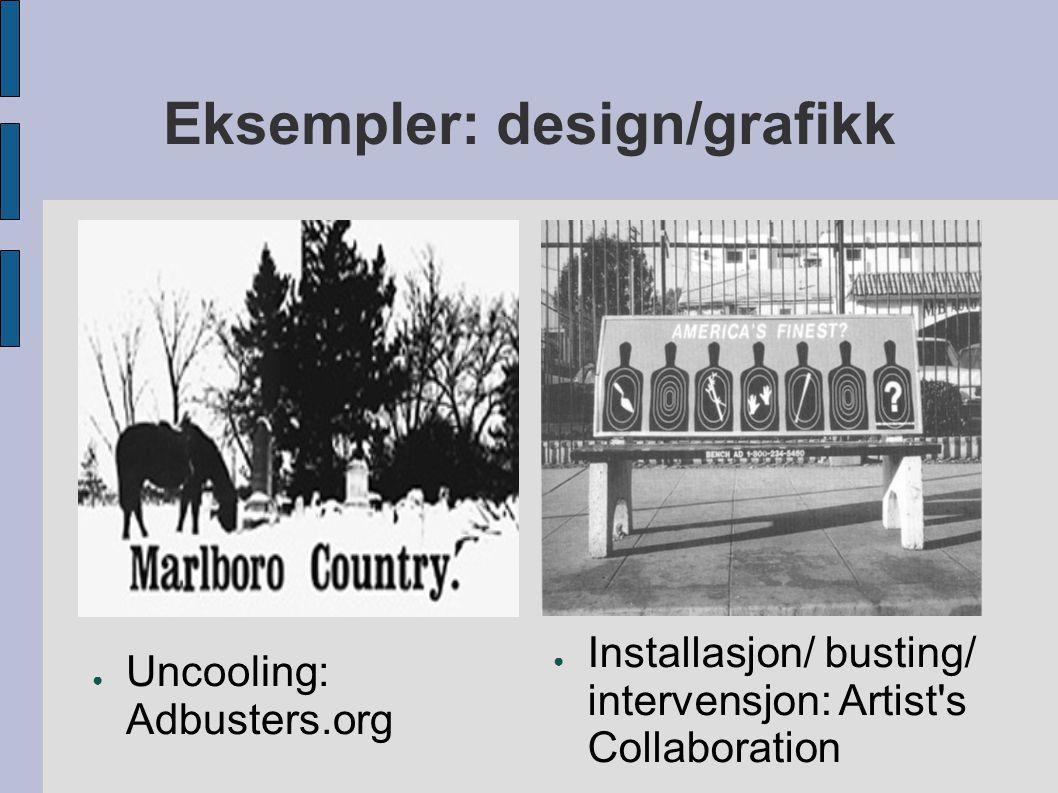 Eksempler: design/grafikk