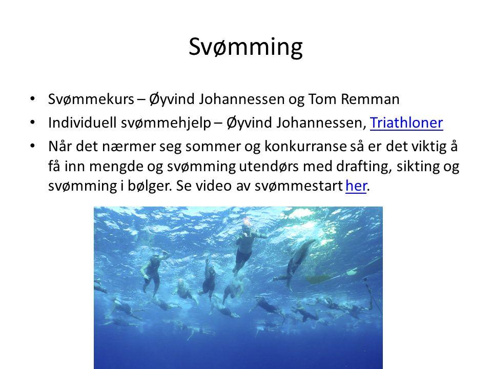 Svømming Svømmekurs – Øyvind Johannessen og Tom Remman