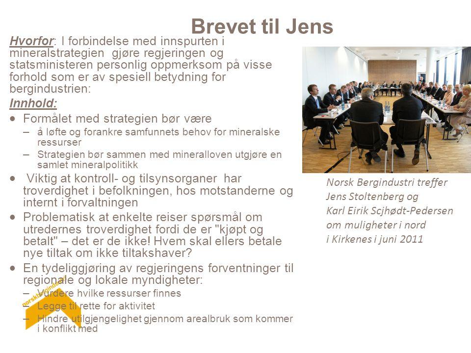 Brevet til Jens