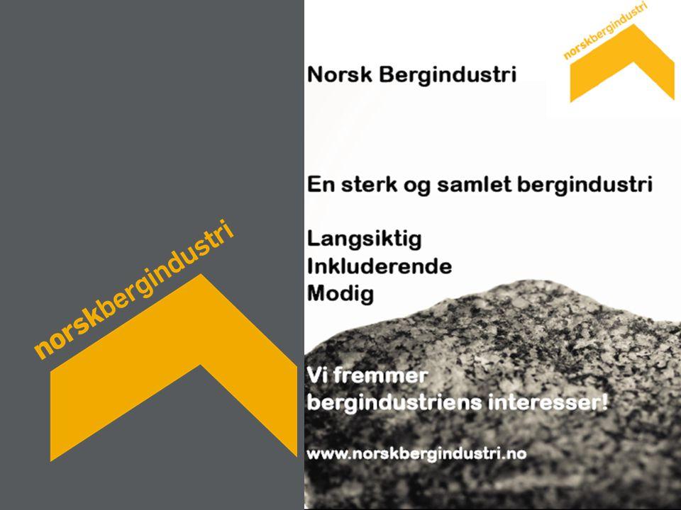 Norsk Bergindustri en ung forening – dannet i 2008 – stifterne representerer bredden og lange tradisjoner i bergindustrien