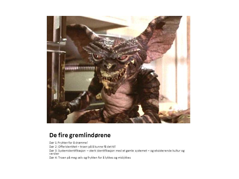 De fire gremlindørene Dør 1:Frykten for å drømme!