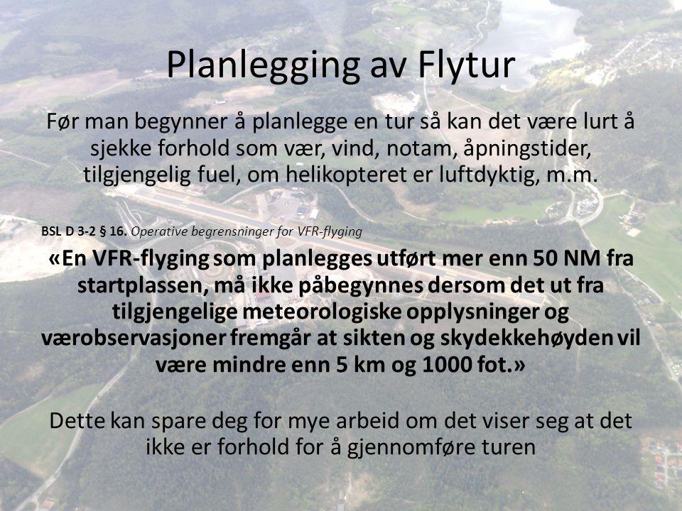 Planlegging av Flytur