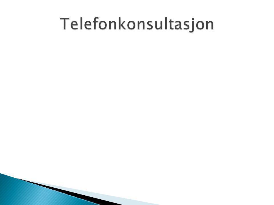 Telefonkonsultasjon