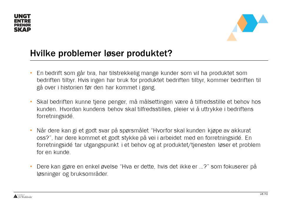 Hvilke problemer løser produktet