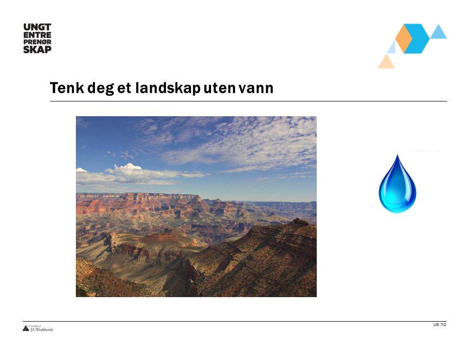 Tenk deg et landskap uten vann