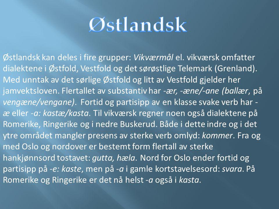 Østlandsk