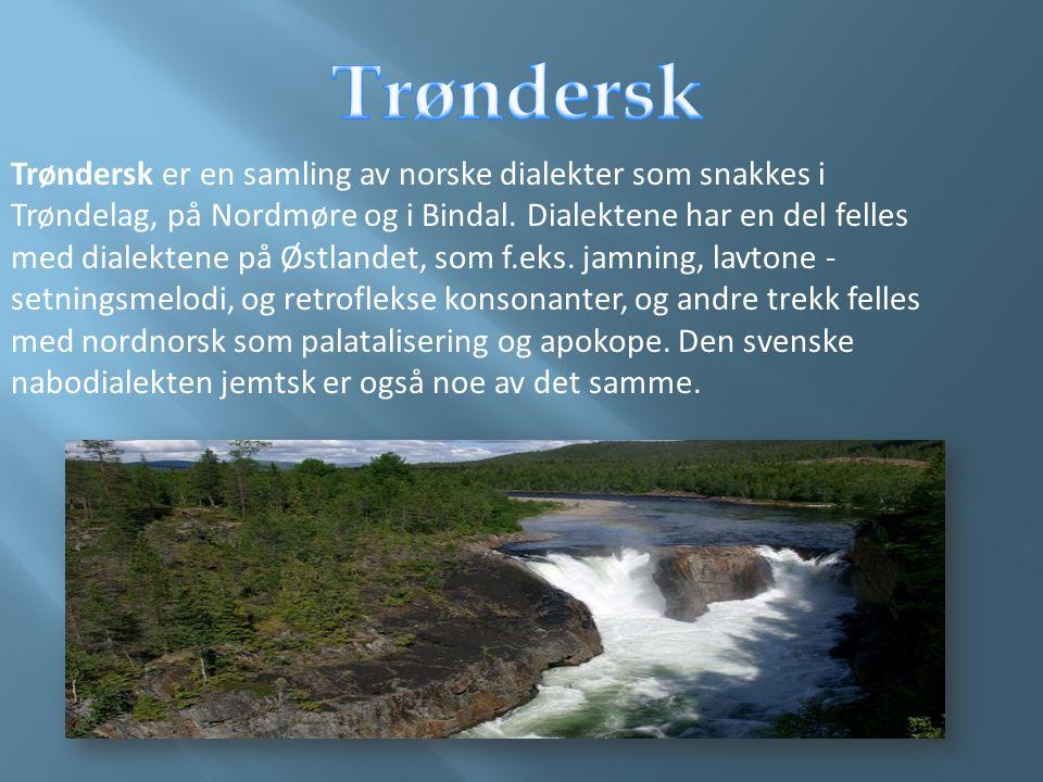 Trøndersk