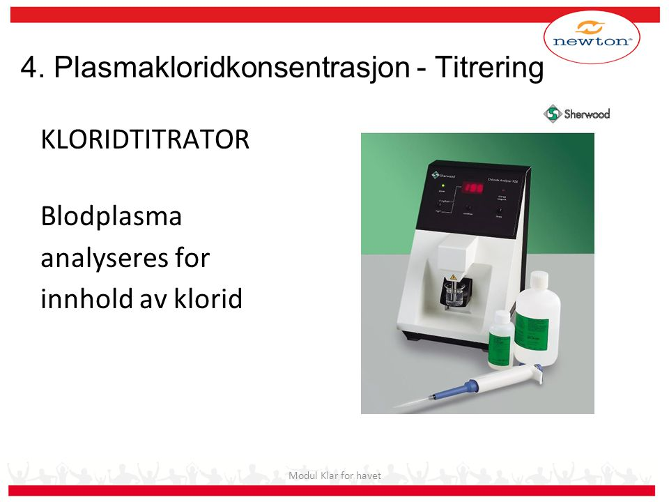 4. Plasmakloridkonsentrasjon - Titrering