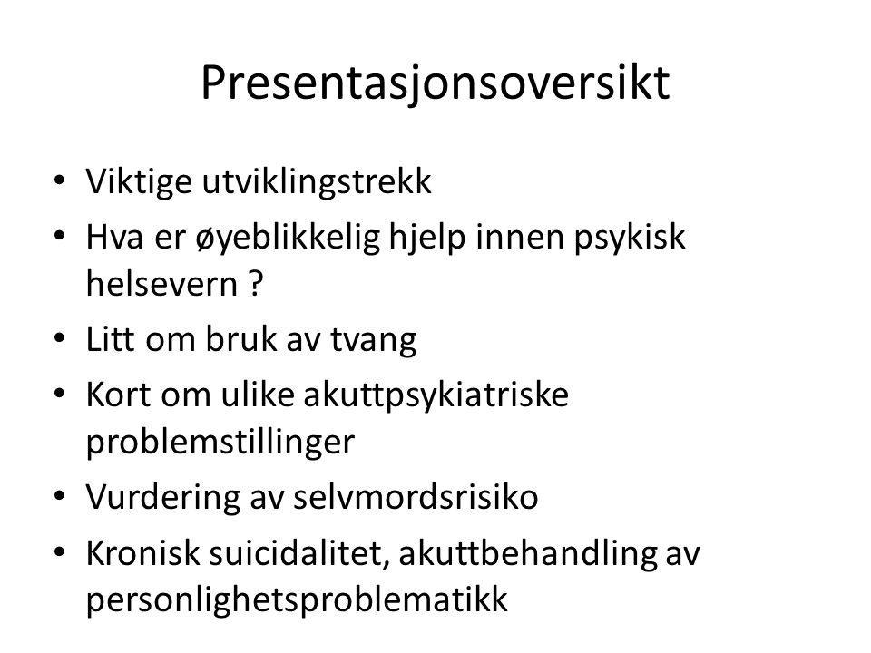 Presentasjonsoversikt
