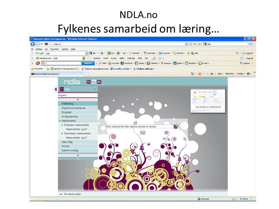 NDLA.no Fylkenes samarbeid om læring…