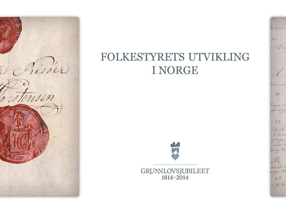folkestyrets utvikling i norge