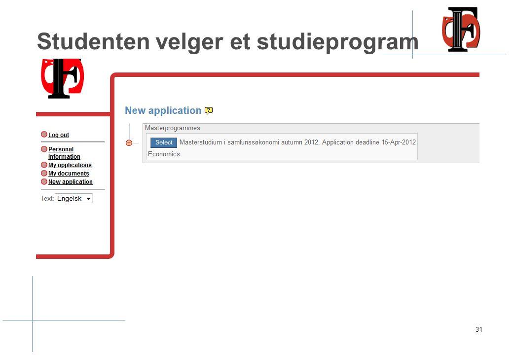 Studenten må registrere personopplysninger