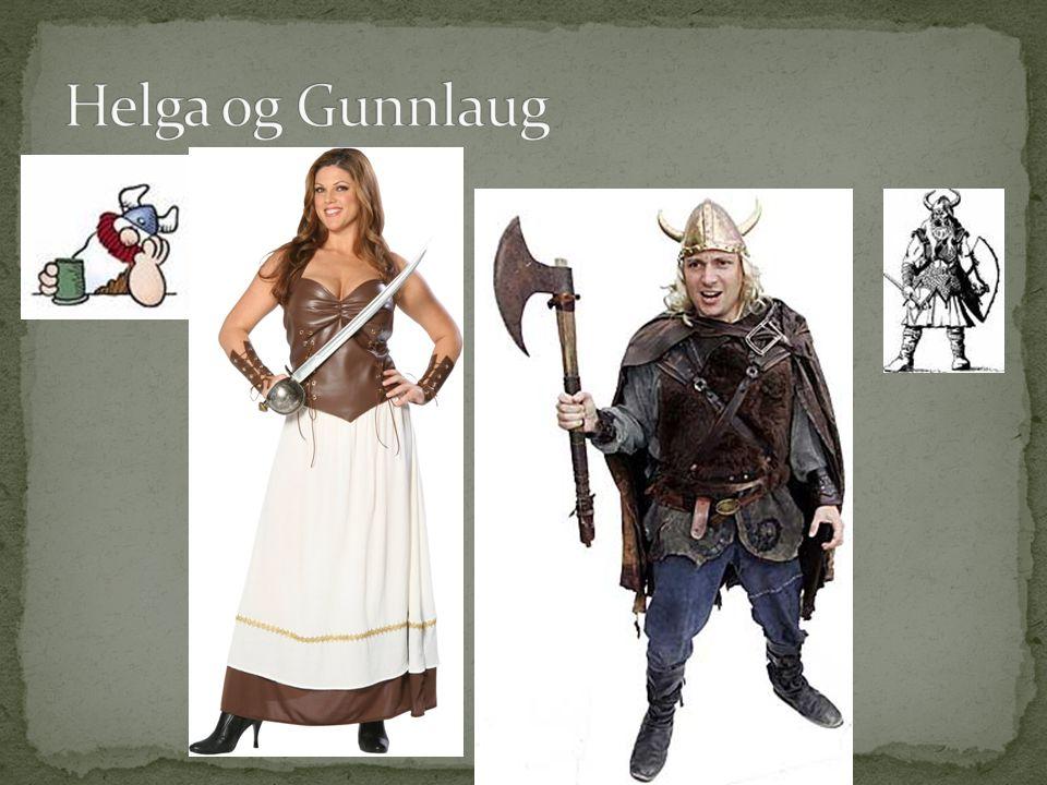 Helga og Gunnlaug