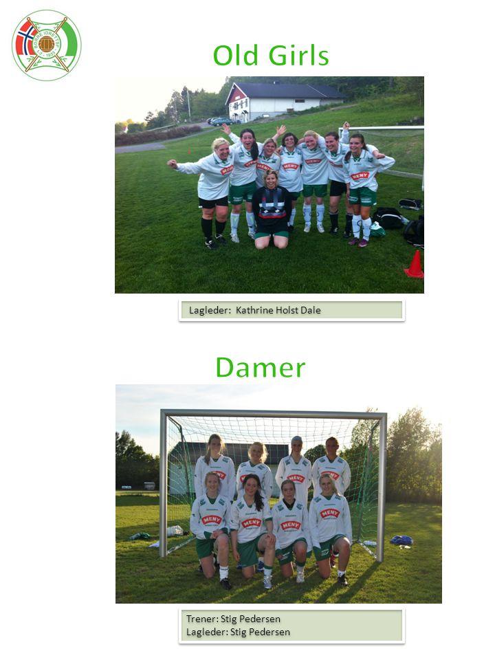 Old Girls Damer Lagleder: Kathrine Holst Dale Trener: Stig Pedersen