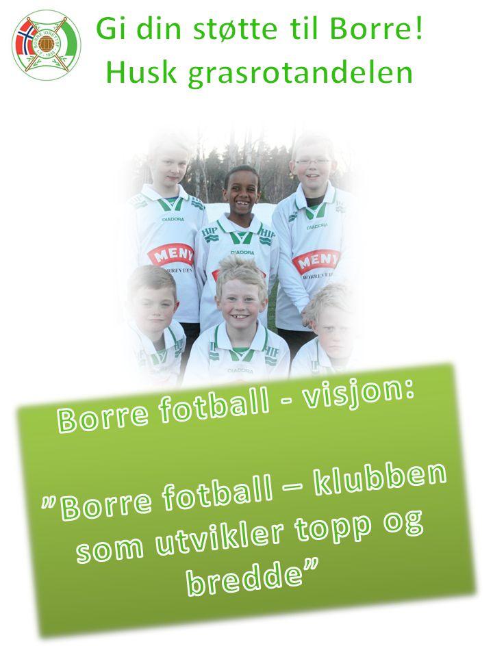 Gi din støtte til Borre! Husk grasrotandelen