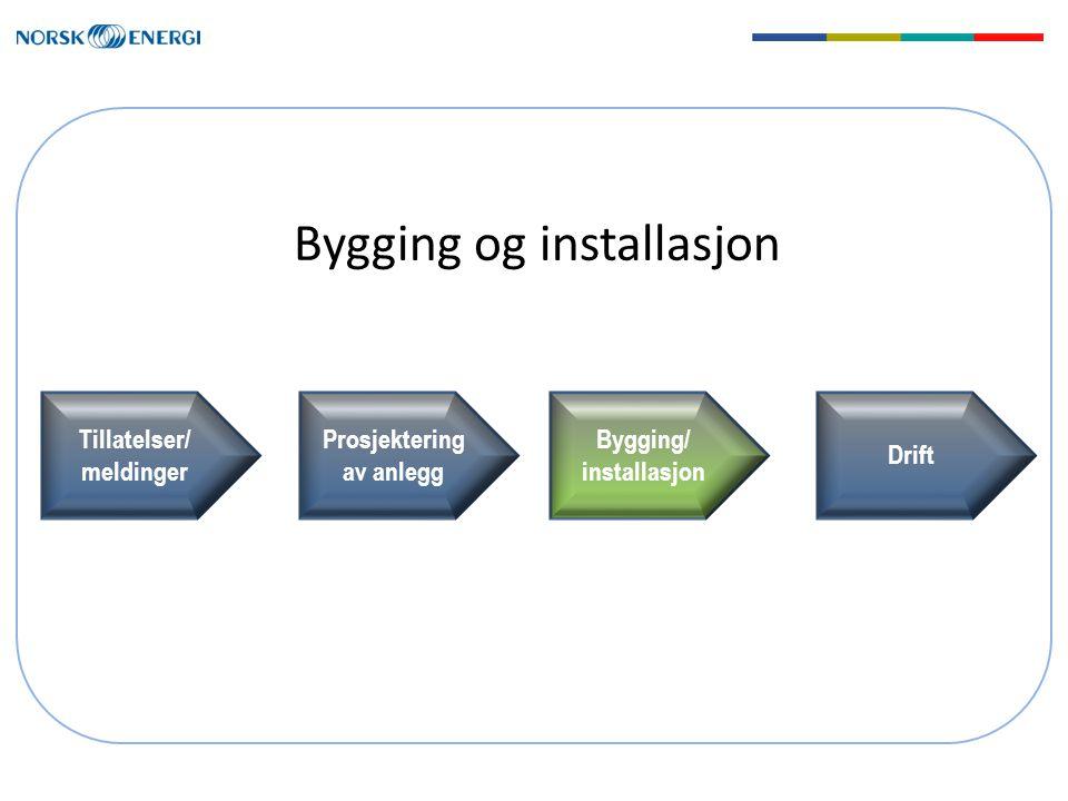 Bygging og installasjon