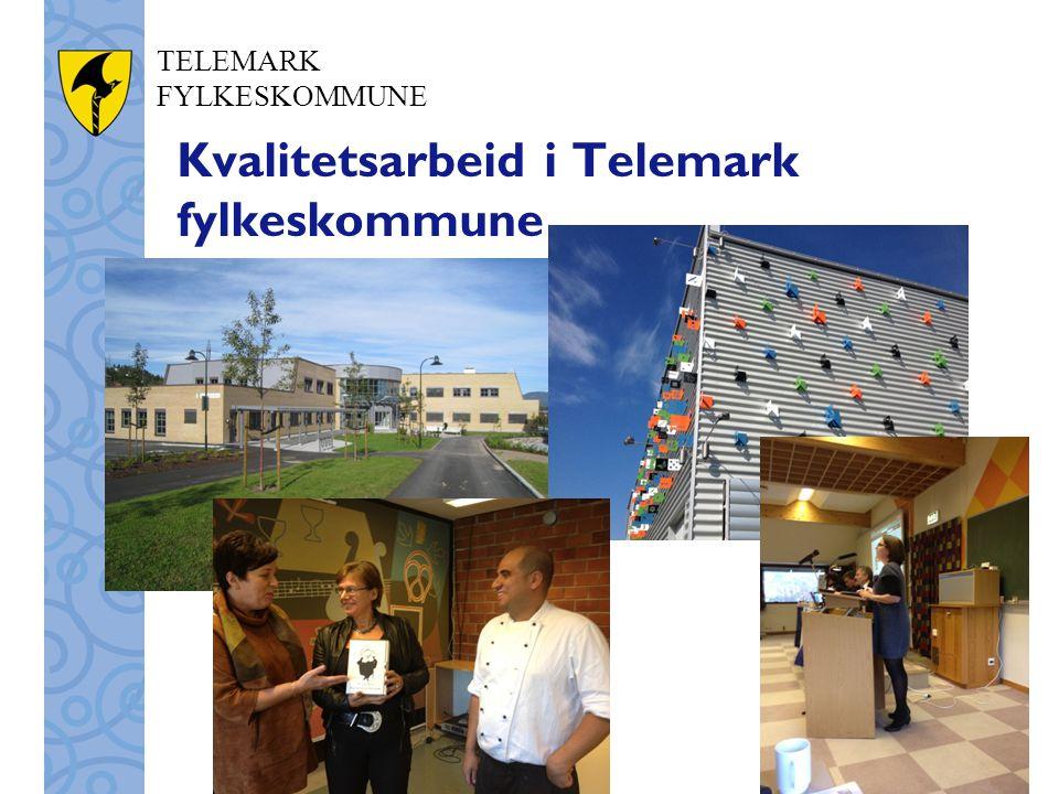 Kvalitetsarbeid i Telemark fylkeskommune
