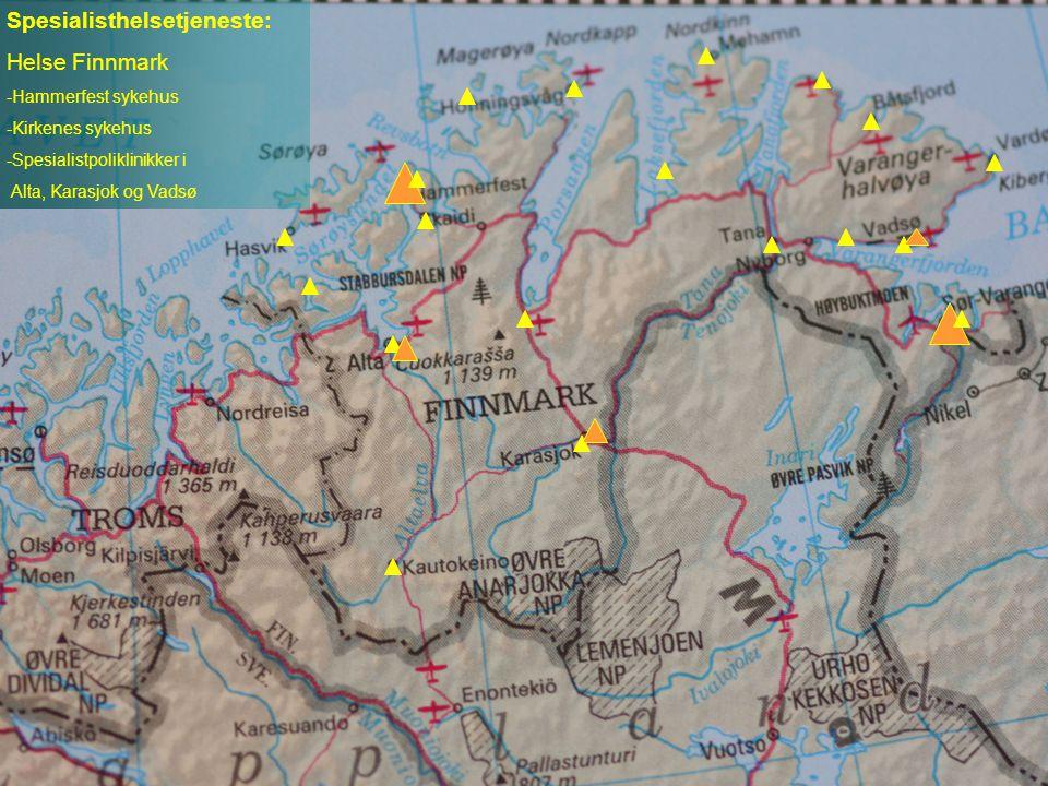 Spesialisthelsetjeneste: Helse Finnmark
