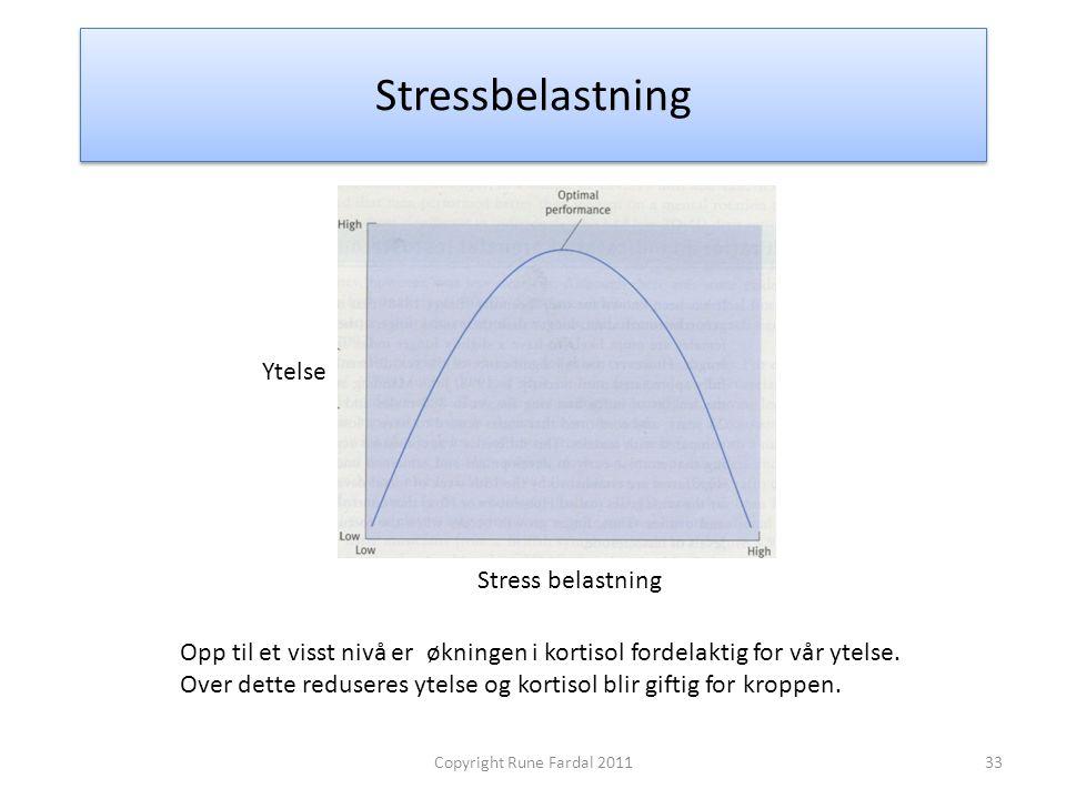 Stressbelastning Ytelse Stress belastning