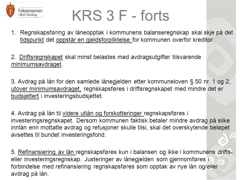 KRS 3 F - forts