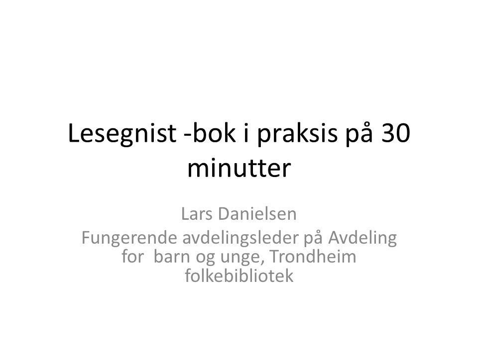 Lesegnist -bok i praksis på 30 minutter