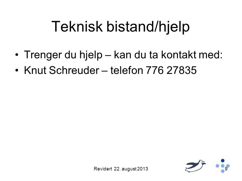 Teknisk bistand/hjelp