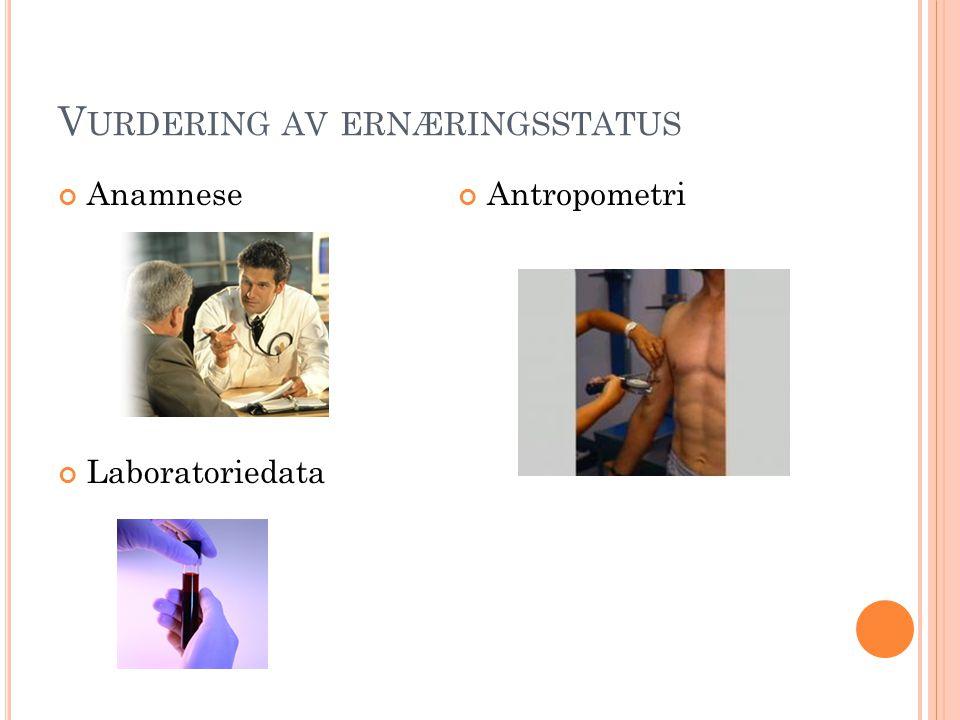 Vurdering av ernæringsstatus