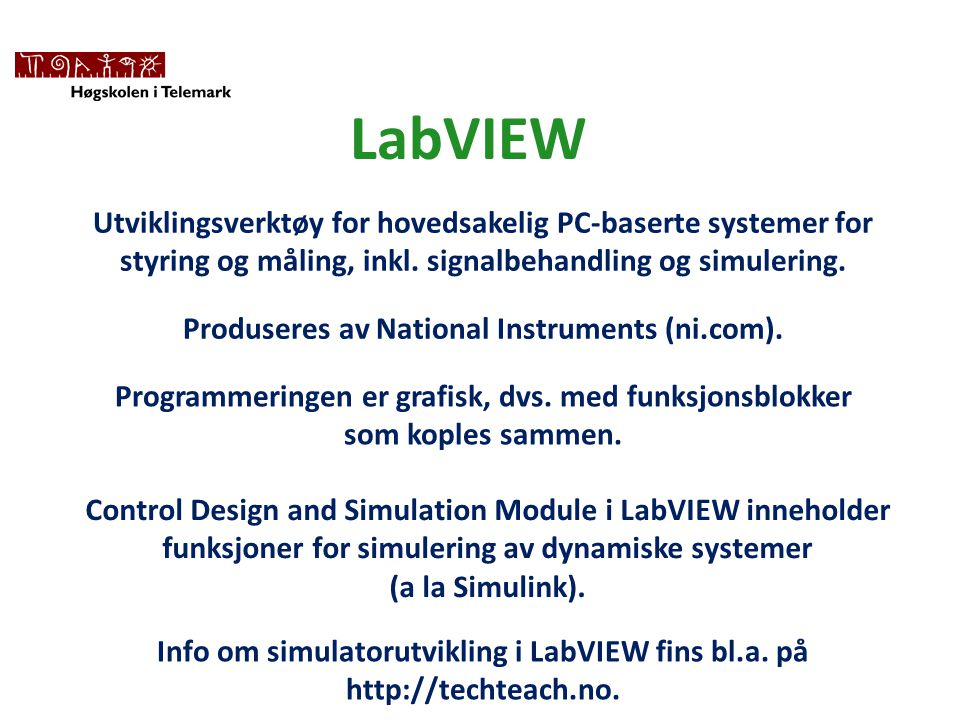 Produseres av National Instruments (ni.com).